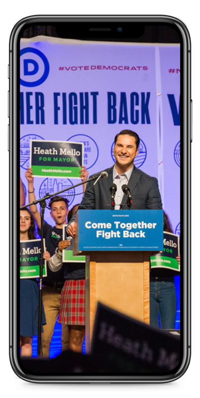 Heath Mello for Mayor - BCom Solutions Digital Campaign | Political Campaign | Digital Marketing Agency | Websites, Social Media, Email