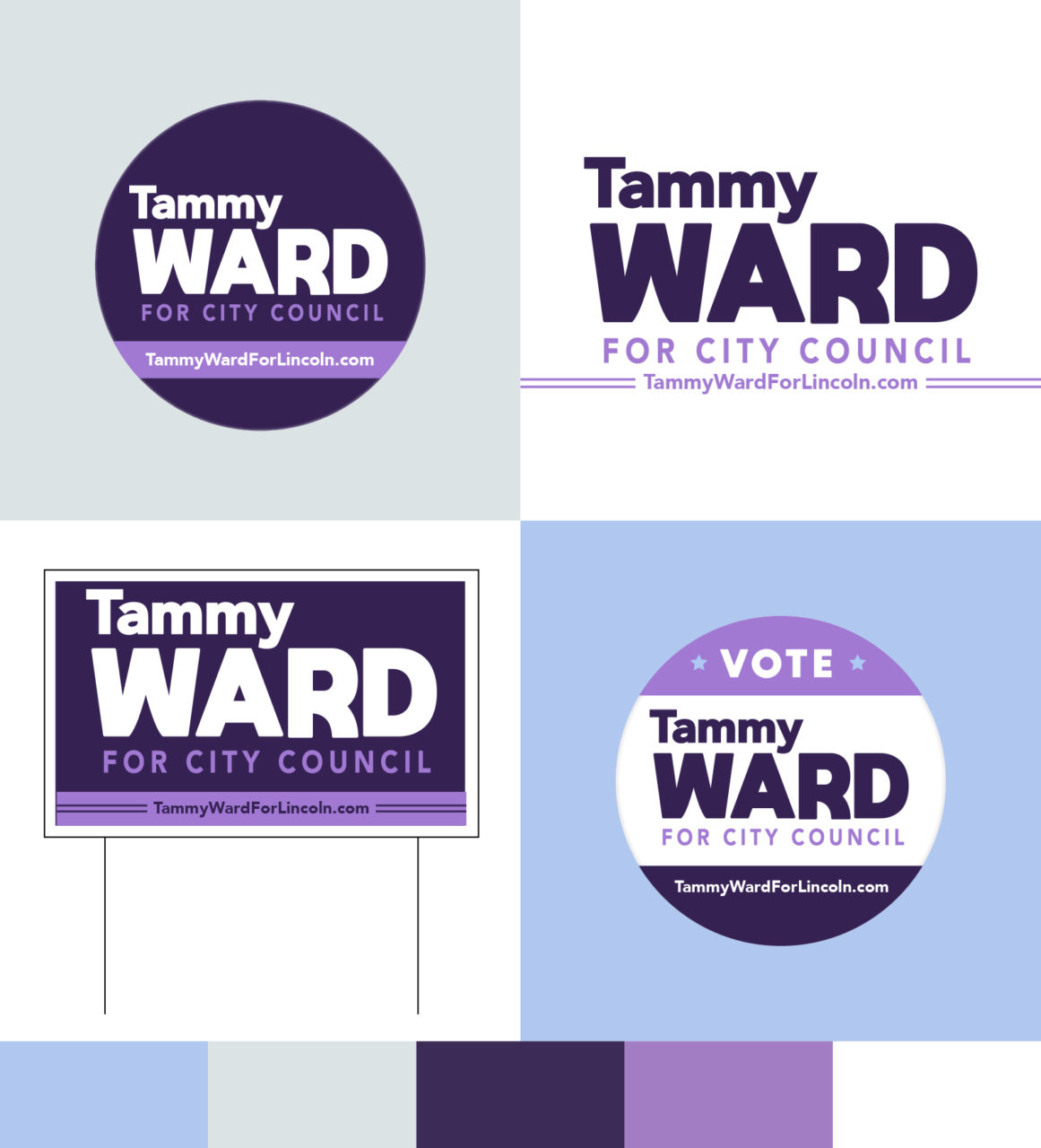 Tammy Ward for City Council Branding